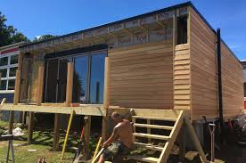 garden rooms cornwall devon building with boxes building with