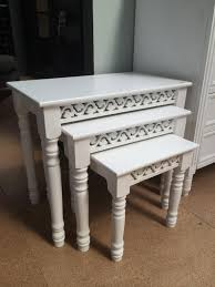 white nest of tables belgravia white nest of tables mulberry moon