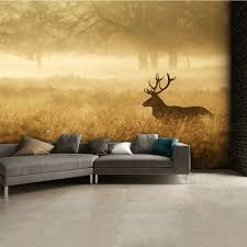 stag landscape wall mural 315cm x 232cm autumn stag landscape wall mural 315cm x 232cm