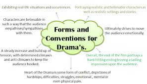 fantasy film genre conventions group 14 conventions of drama genre