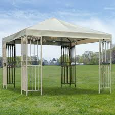 Island Canopy by Target Summer Living Gazebo Replacement Canopy G Gz039pst 1 Garden