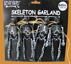cheap halloween skeletons skulls bones shrunken head pirate theme