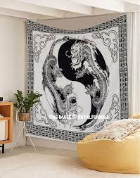 Map Tapestry Large Black And Blue Multi World Map Tapestry Atlas Cotton Sheet