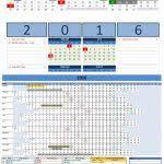 2015 calendar templates microsoft and open office excel landsca