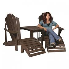 Brown Plastic Adirondack Chairs Adirondack 2 Chair Tete A Tete Barco Products