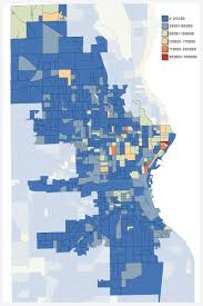 Property Value Map Demographic Maps U2014 Milwaukee Art Barge