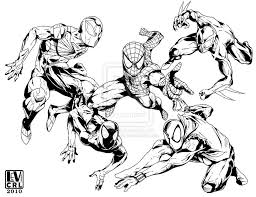15 images of marvel iron spider coloring pages iron fist