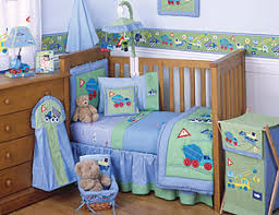 Baby Boy Cot Bedding Sets Line 3 Cot Bed Set Construction Zone 76 91 Baby