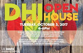 humanities institute dhi fall reception open house