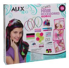 s hair accessories ultimate hair accessories salon deluxe craft kit for