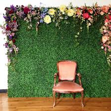 wedding backdrop grass 16 photo backdrop ideas for your next party astroturf