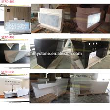 Buy Reception Desk by Fantastic Newest Luxury Reception Desk Design Modern Salon Lounge