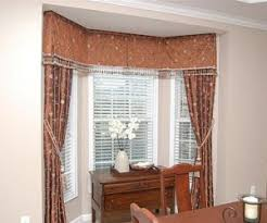 Best Blinds For Bay Windows How To Solve The Curtain Problem When You Have Bay Windows