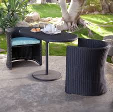Round Wicker Patio Furniture - patio glamorous small patio chairs patio furniture clearance