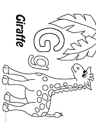 letter g coloring pages getcoloringpages com