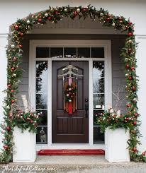 vintage sled front door decor front door decor front doors and