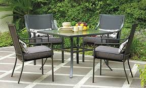 Low Price Patio Furniture Sets Gramercy Home 5 Patio Dining Table Set Garden