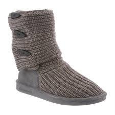 womens paw boots size 11 s knit by bearpaw bearpaw com