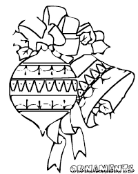 printable coloring pages christmas ornament for kids christmas