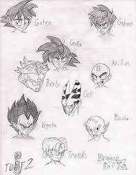 of dragon ball z characters