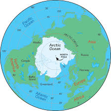 arctic map map of the arctic facts about the arctic and the