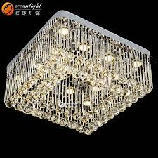 Chandelier Led Lights Crystal Flat Chandelier Light Crystal Flat Chandelier Light