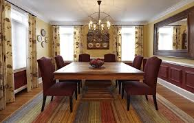 Oversized Dining Room Chairs - dc metro square pedestal table dining room eclectic with oversized