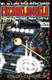 teenage mutant ninja turtles u2013 color classics micro series