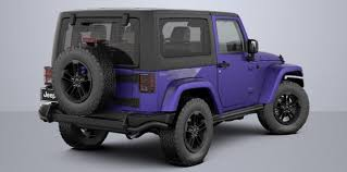 jeep wrangler in the winter introducing the 2 2017 jeep wrangler special editions