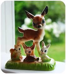 96 best vintage deer images on deer kitsch and figurines