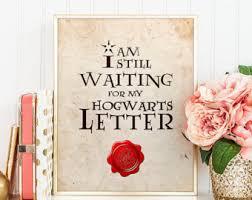hogwarts letter etsy