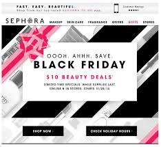 oakley black friday sale sephora black friday design email inspiration pinterest