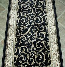 Floor Rug Runners Black Rug Runner Rugs Decoration