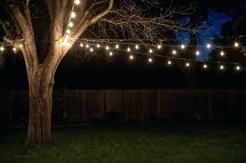globe string lights backyard outdoor lighting outdoor party lights