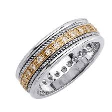 best wedding bands chicago men gold diamond wedding bands mens gold wedding bands
