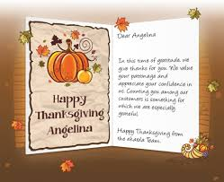 thanksgiving messages for business free design and templates