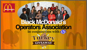 mcdonalds thanksgiving m3g participates in community turkey give a way m3g national