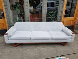 mid century gondola sofa furniture in seattle wa offerup