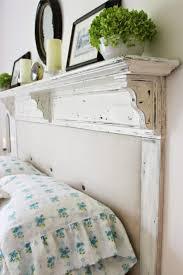 Diy Bookshelf Headboard Bedroom Wonderful Diy Headboard Shelf Mantel Rustic Headboards