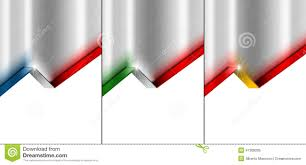 Green Red And White Flag Metal Background With 4 Flag French Spanish And Italian Stock