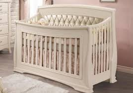 Convertible Cribs On Sale Convertible Crib In Linen W Platinum Tufted Panel By Natart