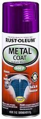 rust oleum automotive 251585 11 ounce metal coat spray purple