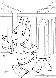 backyardigans colouring pages nickelodeon colouring pictures