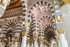 islamische architektur al haram moschee in mekka bilder