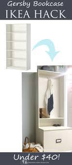 home design hack gersby bookcase ikea hack jpg