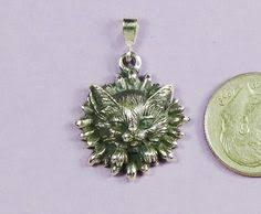 maine coon kitten large pendant sterling silver silver maine coon