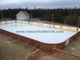 Backyard Hockey Rink by Backyard Rink Home Interior Ekterior Ideas