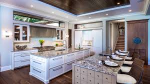 kitchen with two islands home decoration ideas