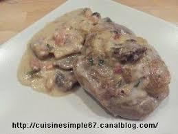 cuisiner un osso bucco osso bucco de dinde à la crème et aux chignons cuisine simple