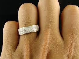 weddings 10k men s 10k yellow gold wedding band diamond ring size 7 8 9 10 11
